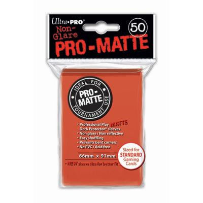 Ultra Pro Standard Sleeves Red (50)