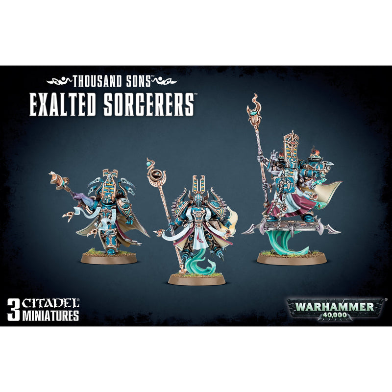 Thousand Sons; Exalted Sorcerors