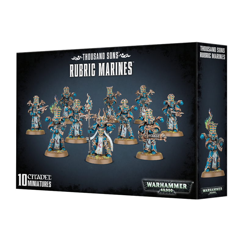 Thousand Sons: Rubric Marines
