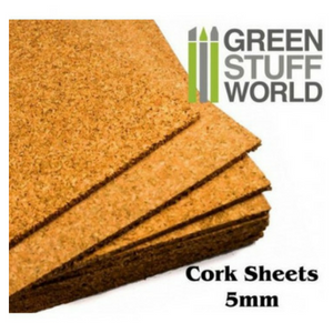Cork Sheet in 5mm - A4 Size