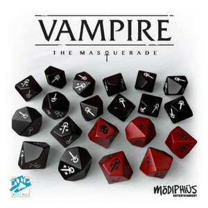 Vampire: The Masquerade Dice Set