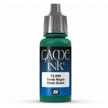 Black Green Ink