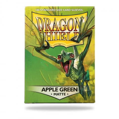 Dragon Shield Sleeves Matte Apple Green (100)