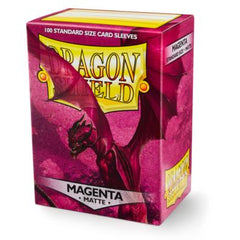 Dragon Shield Sleeves Matte Magenta (100)