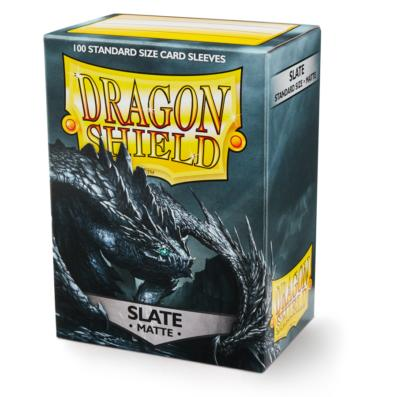 Dragon Shield Sleeves Matte Slate (100)