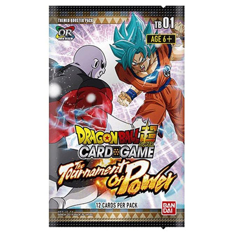 Dragonball Super Card Game: Themed Booster 01 Tournament of Power