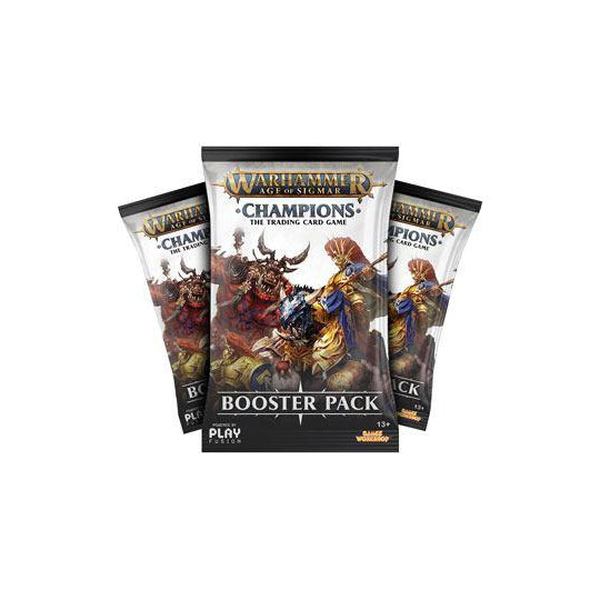 Warhammer Age of Sigmar: Champions Wave 1 Booster Display (24)