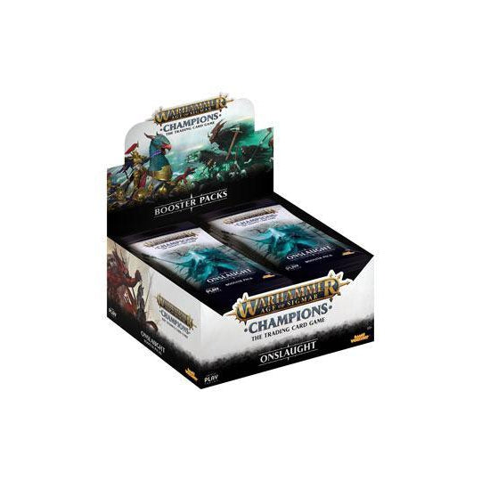 Warhammer Age of Sigmar: Champions Wave 2: Onslaught Booster Display (24)