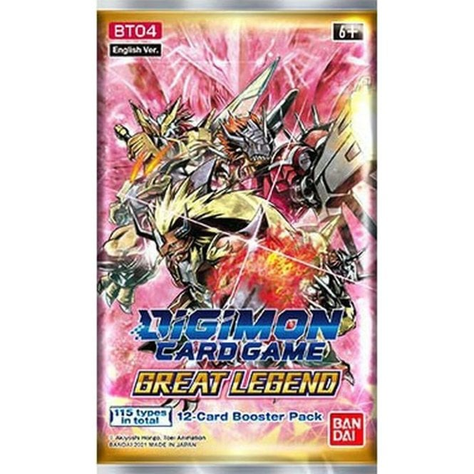 Digimon: Great Legend Booster