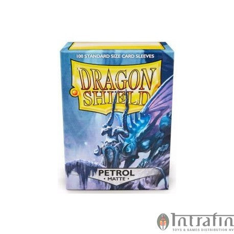 Dragon Shield Sleeves Matte Petrol (100)