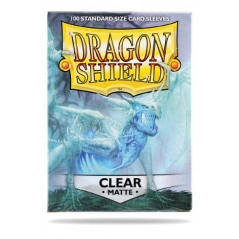 Dragon Shield Sleeves Matte Clear (100)