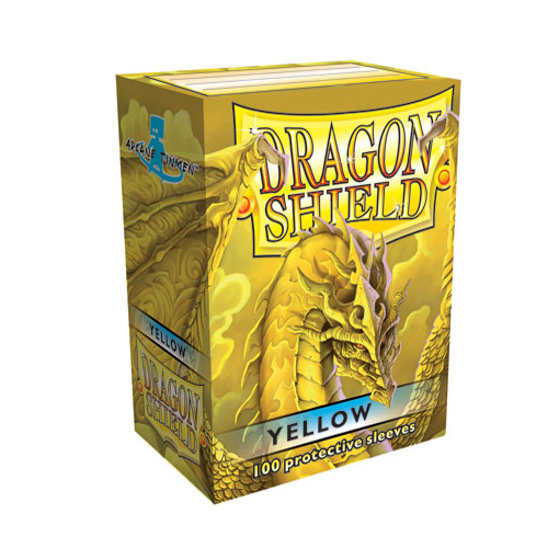 Dragon Shield Sleeves Matte Yellow (100)