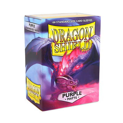 Dragon Shield Sleeves Matte Purple (100)