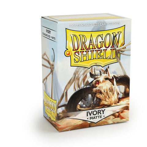 Dragon Shield Sleeves Matte Ivory (100)