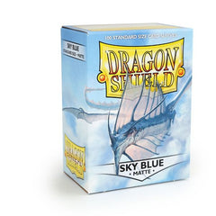 Dragon Shield Sleeves Matte Sky Blue (100)