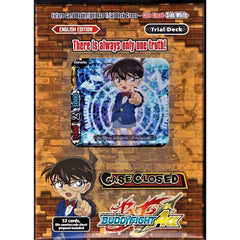BFE Ace Trial Deck Cross Vol. 1: Case Closed -Side: White