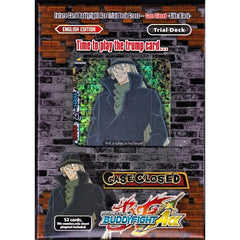 BFE Ace Trial Deck Cross Vol. 1: Case Closed -Side: Black