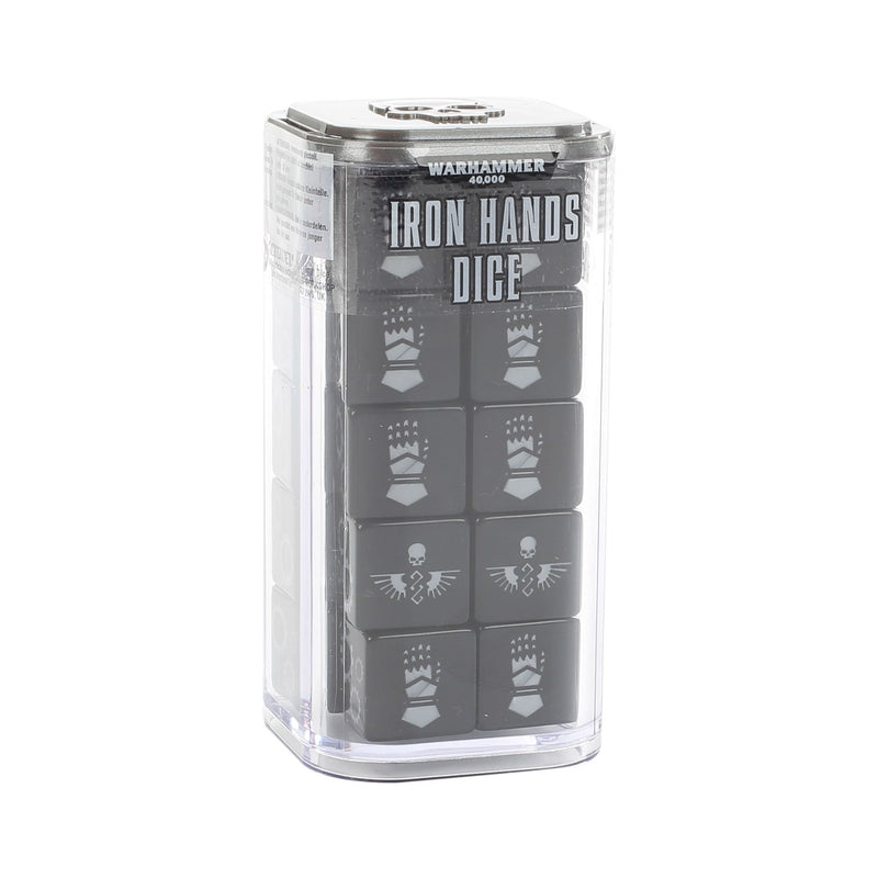 40K Dice Set: Iron Hands