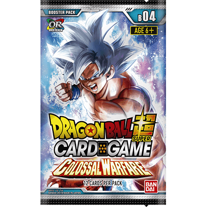 Dragonball Super CG: Booster Box Colossal Warfare