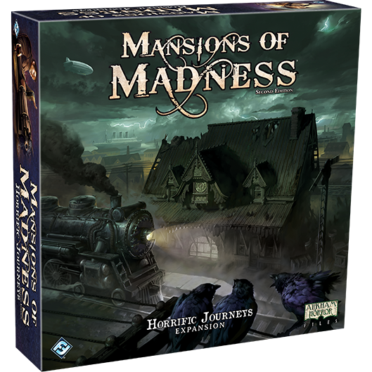 Horrific Journeys: Mansions of Madness 2nd Ed Exp.