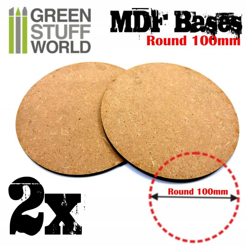 MDF Bases - Round 32 mm