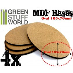 MDF Bases - Round 25 mm