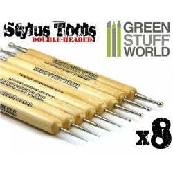 8x Sculpting STYLUS tool set