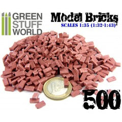 Model Bricks - Red x500