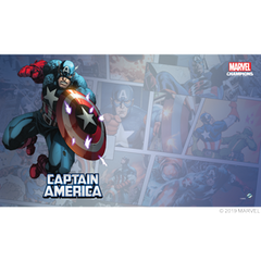1-4 Player Marvel Champions Game Mat