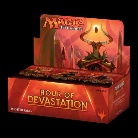Hour of Devastation Booster Display