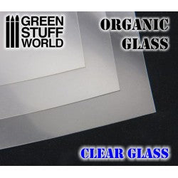Organic GLASS Sheet - Clear