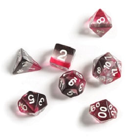 Sirius Dice: Pink Clear Black