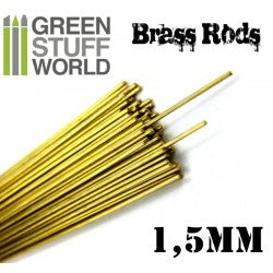 Pinning Brass Rods 1.5mm