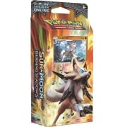 Pokemon TCG: Sun & Moon Burning Shadows Theme Deck : Rock Steady (Lycanroc)