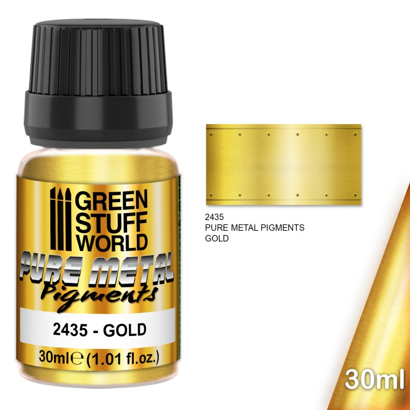 Pure Metal Pigments: Gold