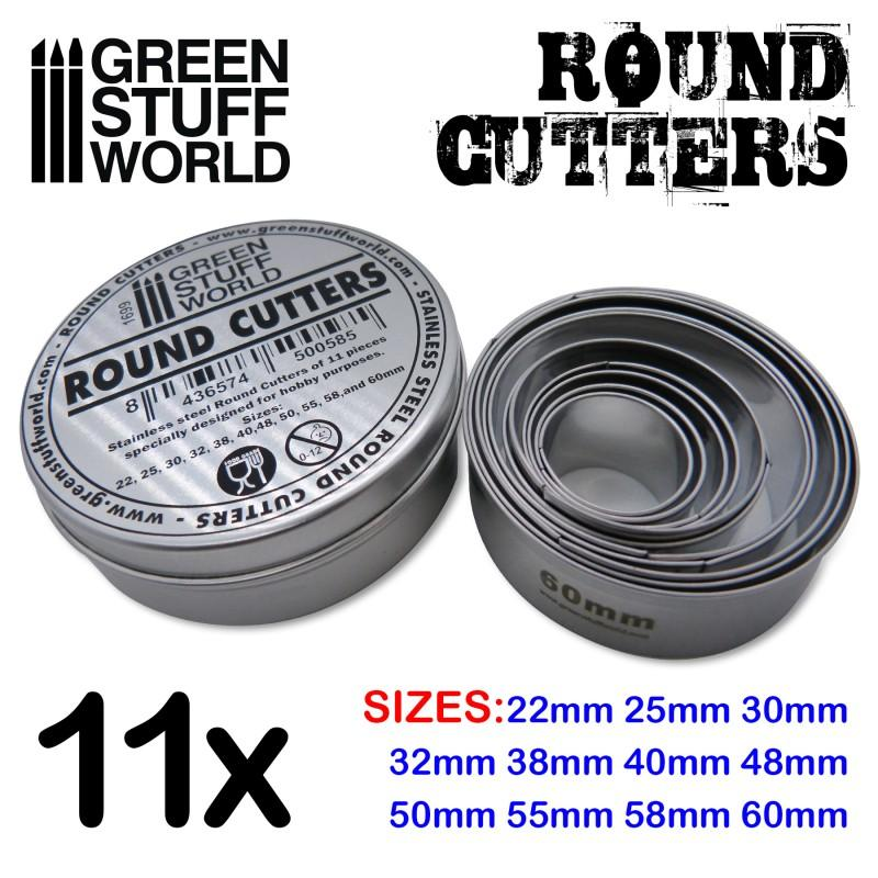Round Cutters for Bases