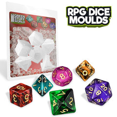 RPG Dice Mould