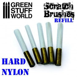 Scratch Brush Set Refill – Hard nylon
