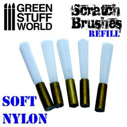 Scratch Brush Set Refill – Soft nylon