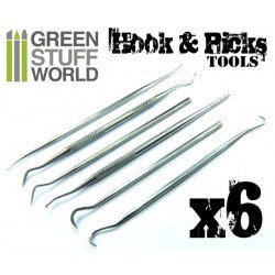 6x Hook and Pick tool Set