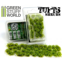 Shrubs TUFTS - 6mm self-adhesive - LIGHT GREEN