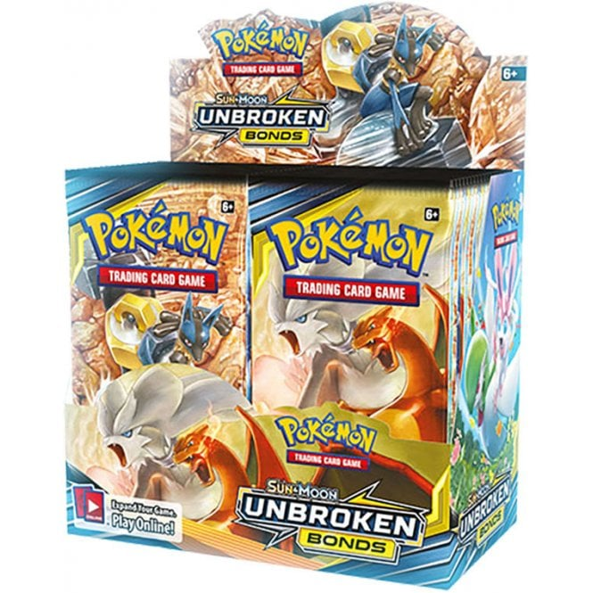 Pokemon TCG Unbroken Bonds Booster Display