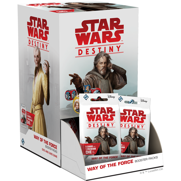 Star Wars Destiny: Way of the Force Booster Pack