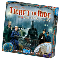 Ticket To Ride UK Expansion