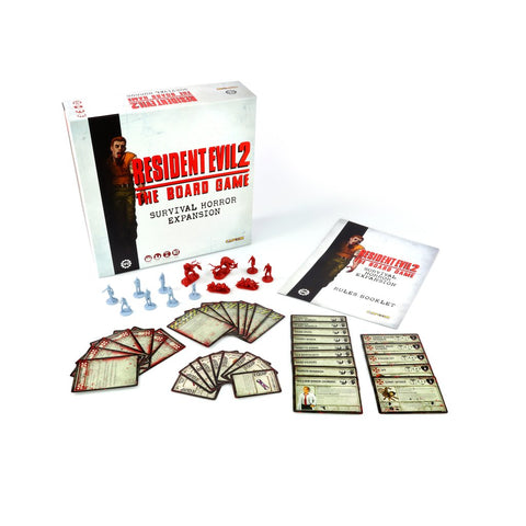Resident Evil 2 The Board Game Justplaygames