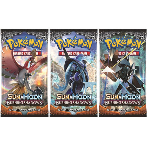 Pokemon TCG: Sun & Moon Burning Shadows Boosters