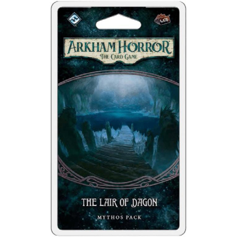 The Lair of Dagon- Mythos Pack: Arkham Horror LCG Exp.