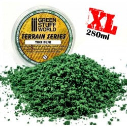 Tree Bush Clump Foliage - Dark Green - 280 ml