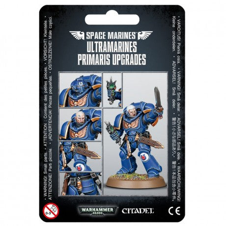 Ultramarine Primaris Upgrades