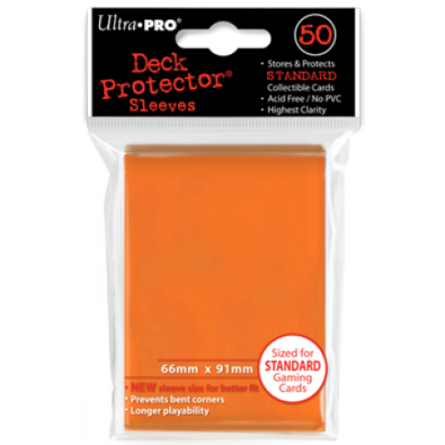Ultra Pro Deck Protector Sleeves Standard Black (50)